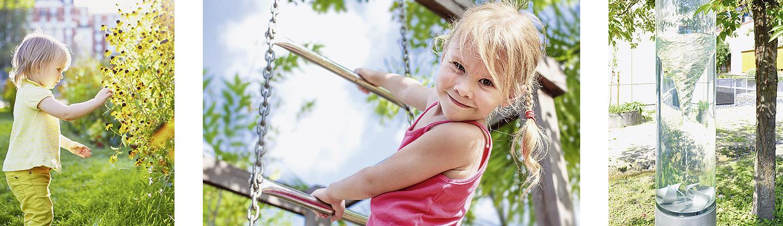 Therapiegarten für Kinder mit Entwicklungsstörungen